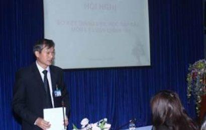 Hội thảo sơ kết giảng dạy các môn lý luận chính trị